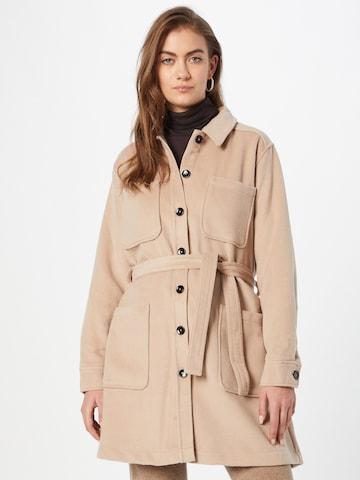 Soft Rebels Prechodný kabát 'SRZoe' - Hnedá