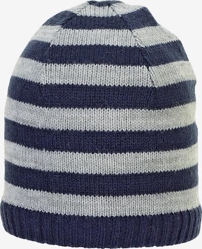 STERNTALER Mütze in marine / grau, Produktansicht