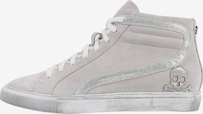 Sneaker înalt Scalpers pe maro cămilă / gri, Vizualizare produs