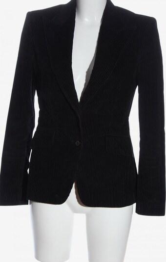 Carolina Herrera Kurz-Blazer in XS in hellgrau / schwarz, Produktansicht