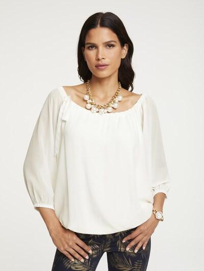 heine Blouse in de kleur Wit, Modelweergave