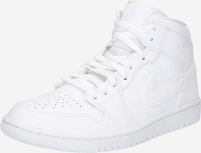 Jordan Hög sneaker 'Air Jordan 1' i vit: Sedd framifrån