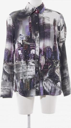 OTTO KERN Langarm-Bluse in XXXL in grau / hellgrau / dunkellila, Produktansicht