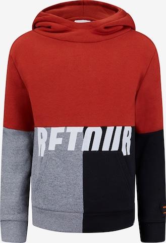 Retour Jeans Sweatshirt 'Rick' in Brown