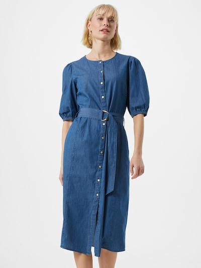 VILA Kleid 'VIFRANZI' in blue denim, Modelansicht