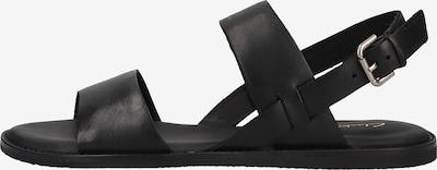 CLARKS Riemensandale in schwarz, Produktansicht