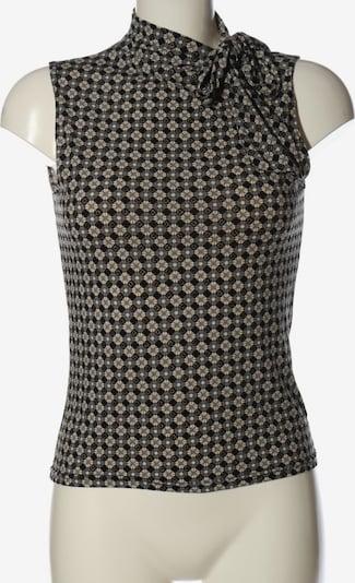 Xanaka ärmellose Bluse in XS in hellgrau / schwarz / wollweiß, Produktansicht