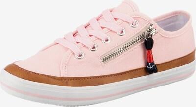 Inselhauptstadt Sneaker in braun / rosa / weiß, Produktansicht