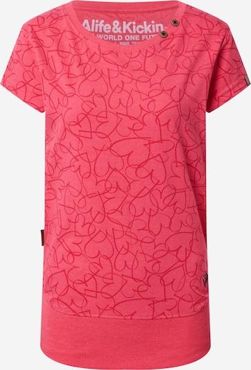 Alife and Kickin T-shirt i rosa / mörkrosa, Produktvy