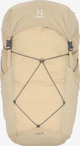 Haglöfs Sports Backpack 'L.I.M' in Beige