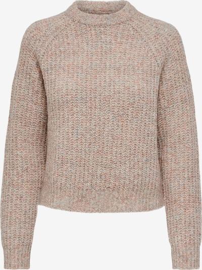 ONLY Pullover in beige / mischfarben / rosa, Produktansicht
