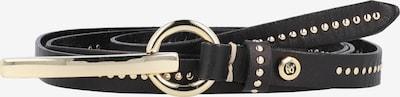 b.belt Handmade in Germany Gürtel 'Cher' in schwarz, Produktansicht