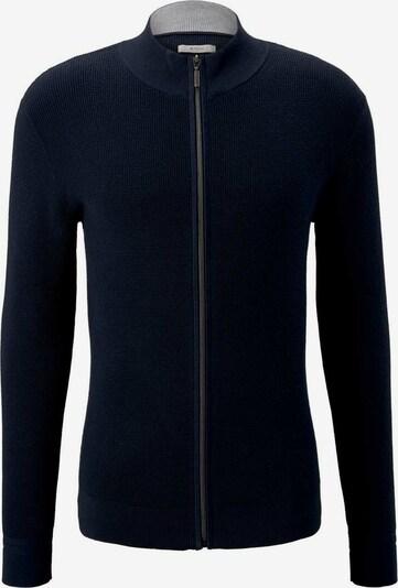TOM TAILOR Vestes en maille en bleu foncé, Vue avec produit