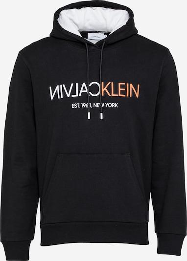 Felpa Calvin Klein di colore corallo / nero / bianco, Visualizzazione prodotti