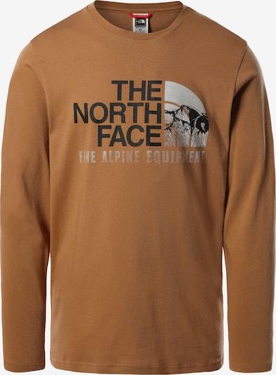 THE NORTH FACE Sweat-shirt en camel, Vue avec produit