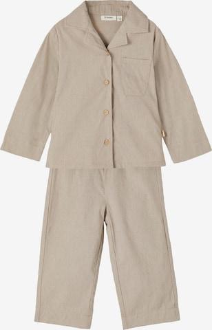 Lil ' Atelier Kids Pajamas 'Remi' in Beige