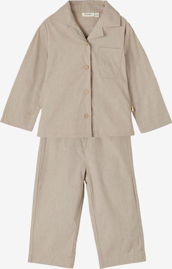 Lil ' Atelier Kids Nachtkledij 'Remi' in de kleur Beige / Grijs, Productweergave