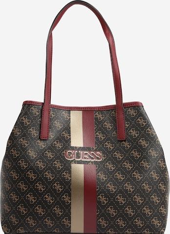 GUESSRučna torbica 'VIKKY' - smeđa boja