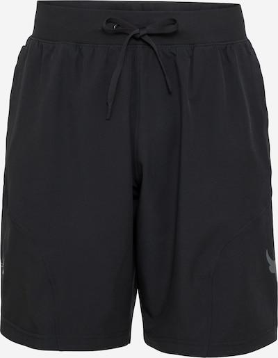 UNDER ARMOUR Športne hlače 'ROCK UNSTOPPABLE' | črna barva, Prikaz izdelka