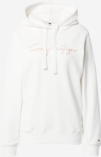 TOMMY HILFIGER Sweat-shirt en rose / blanc, Vue avec produit