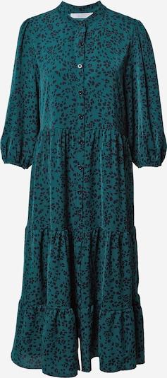 SISTERS POINT Kleid 'NUT' in dunkelgrün / schwarz, Produktansicht