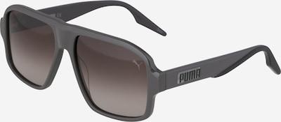 PUMA Saulesbrilles brūns / melns, Preces skats