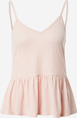 NEW LOOK Top 'Poly' in Roze