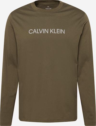 Calvin Klein Performance Sportshirt in hellgrau / khaki, Produktansicht