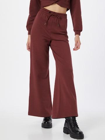 Pantalon 'Katrin' ABOUT YOU en marron