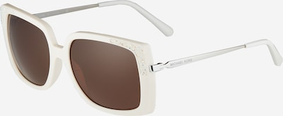 Michael Kors Okulary przeciwsłoneczne 'ROCHELLE' w kolorze brązowy / białym, Podgląd produktu
