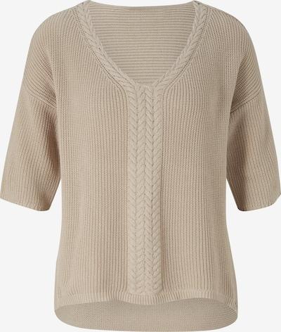 heine Pullover in beige, Produktansicht