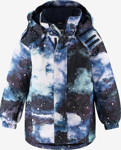 Reima Winterjacke 'KAARTO' in nachtblau / hellblau / weiß, Produktansicht