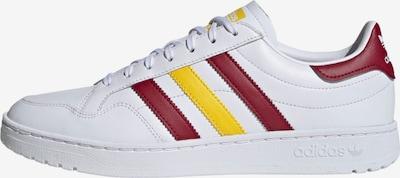 ADIDAS ORIGINALS Sneakers laag in de kleur Geel / Bourgogne / Wit: Vooraanzicht