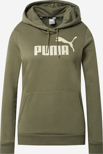 PUMA Sweatshirt in Beige / Olive, Item view