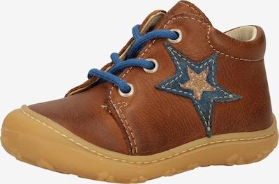 Pepino Schuh 'Romy' in blau / braun / hellbraun, Produktansicht