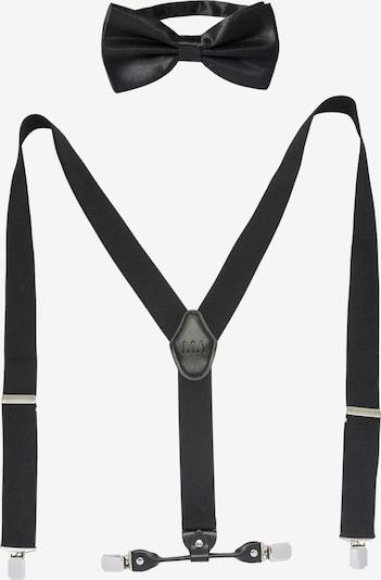 Massi Morino Bretels in de kleur Zwart, Productweergave