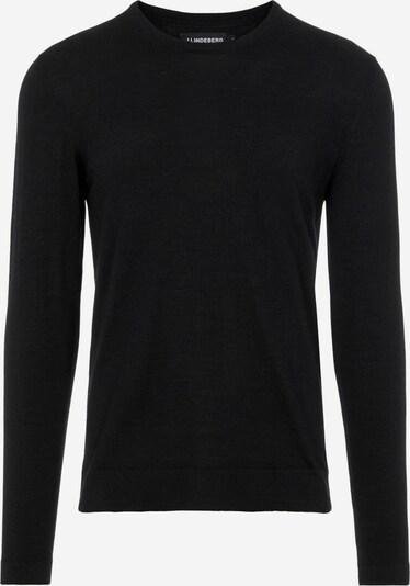 J.Lindeberg Pullover 'Nigel Silk' in schwarz, Produktansicht