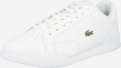 LACOSTE Ниски маратонки 'Twin Serve' в светлозелено / бяло, Преглед на продукта