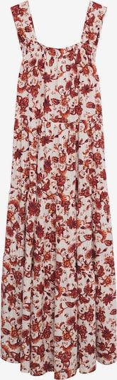 MANGO Kleid 'COQUET' in rot / weiß, Produktansicht