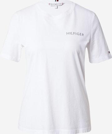 TOMMY HILFIGER Koszulka w kolorze biały