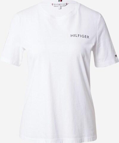 Tricou TOMMY HILFIGER pe alb, Vizualizare produs