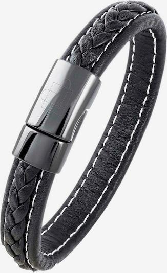 Lunavit Armband 'Zoom' in de kleur Zwart, Productweergave