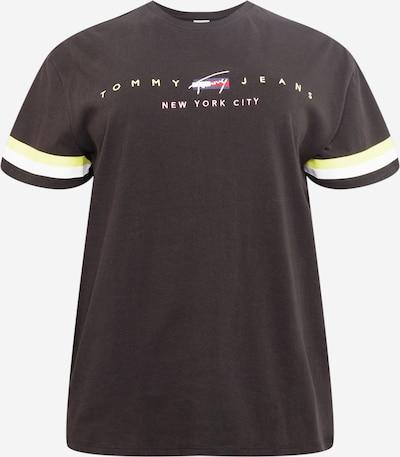 Tommy Jeans Curve Camiseta en azul / amarillo / rojo / negro / blanco, Vista del producto