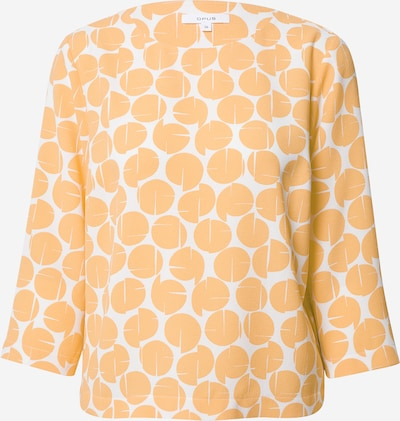 OPUS Bluse in orange / weiß, Produktansicht