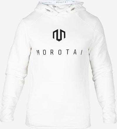MOROTAI Pullover ' NEO Sweathoodie ' in schwarz / weiß, Produktansicht