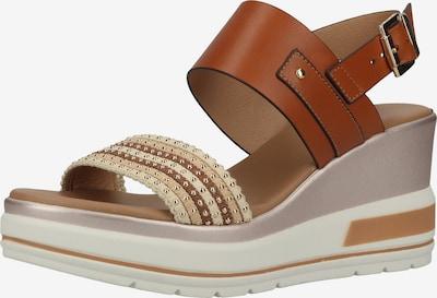 Nero Giardini Sandale in beige / creme / braun, Produktansicht