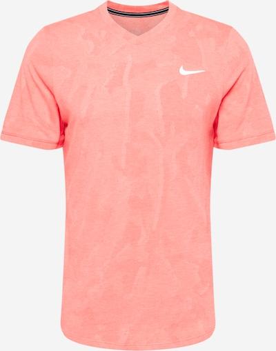 NIKE Sport-Shirt 'Challenger' in lachs / weiß, Produktansicht