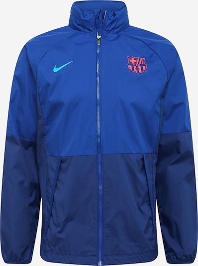 NIKE Sport-Jacke 'FC Barcelona' in royalblau / dunkelblau, Produktansicht