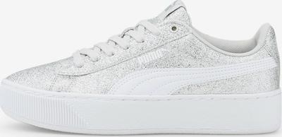 PUMA Sneaker 'Vikky' in silber / weiß, Produktansicht