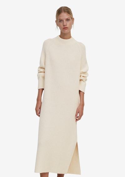 Marc O'Polo Strickkleid in beige / creme, Modelansicht